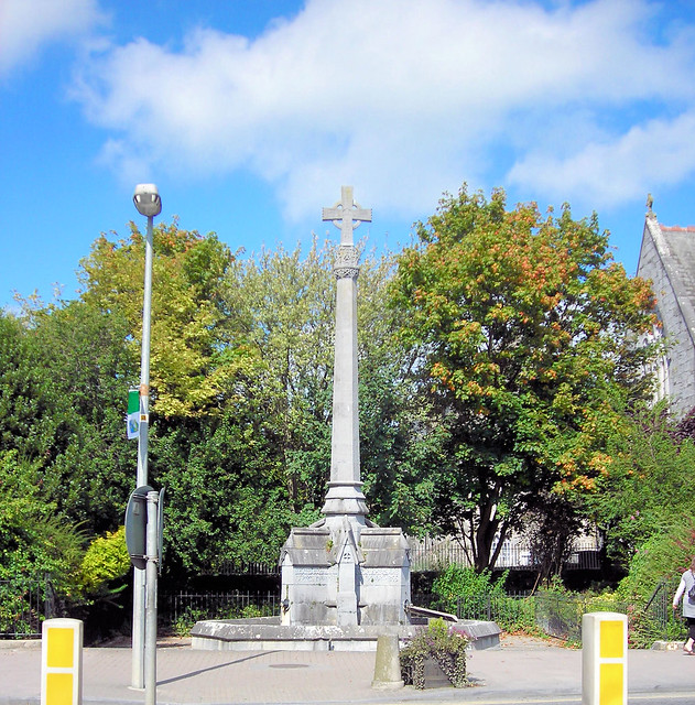 Cross Outside The Trinitarian Abbey, Adare, Co. Limerick