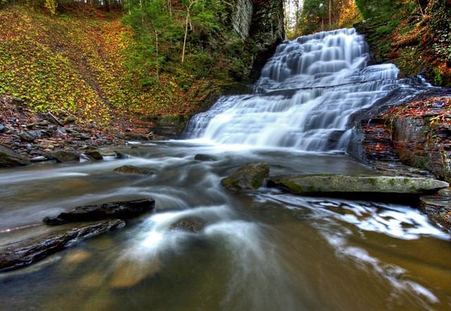 Last Waterfall at Fillmore Glen