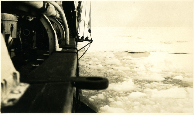 Stuck in the pack ice, Antarctica
