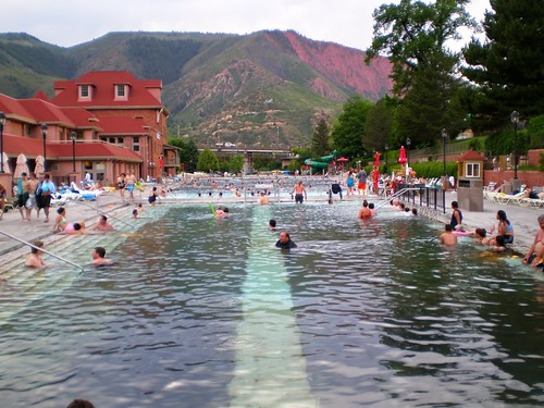 pictures trip travel summer vacation holiday hot pool landscape photo colorado downtown photos pics visit glenwood springs sulphur