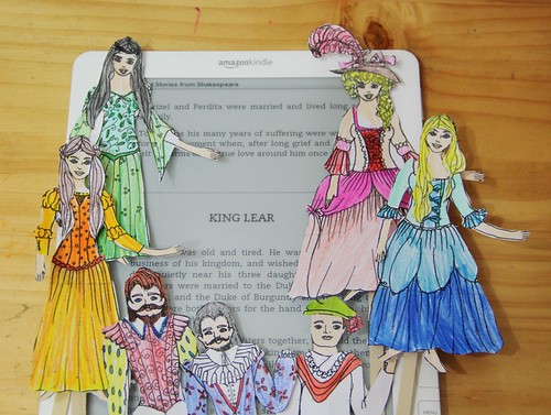 king lear puppets