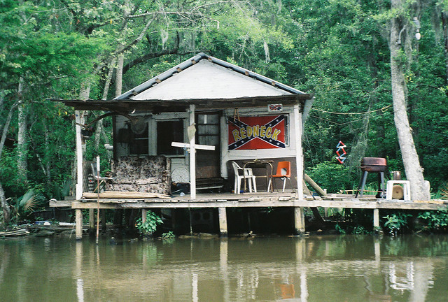 Louisiana swamp house on our for Louisiana home builders