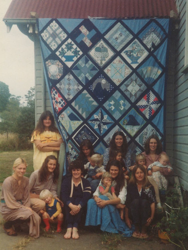 UQI Patchwork Group Quilt 1978