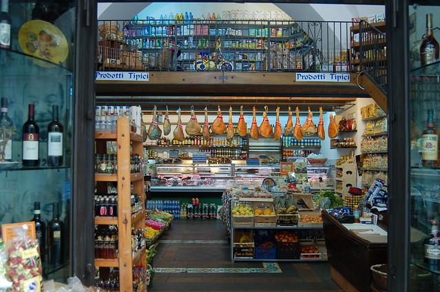 Grocery Store, Amalfi, Italy -- Oceania Mediterranean Cruise 2008 0422 N