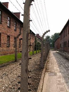 Image of Concentration Camp Auschwitz (Auschwitz I) near Oświęcim. poland auschwitz birkenau