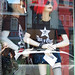 Small photo of Mannequins In Zipperhead Storefront