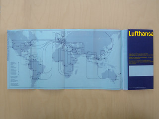 Lufthansa flugplan flight routes
