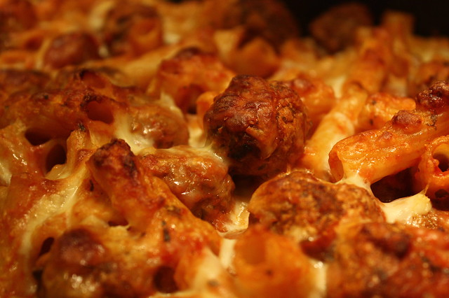 Baked Rigatoni with Meatballs | Flickr - Photo Sharing!