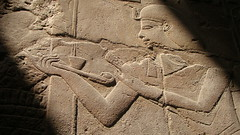 Luxor Egypt ~ Wall Carving Detail