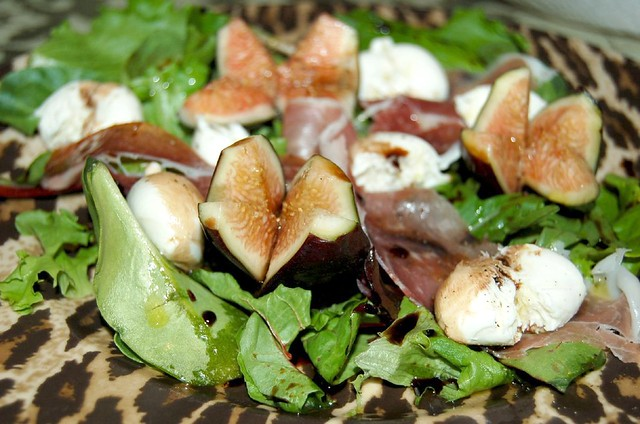 Fig and Prosciutto Salad | I made a salad consisting of ...