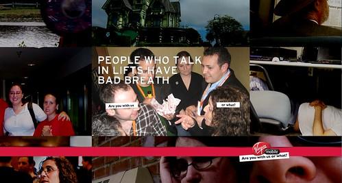 Virgin Mobile breaks rules & now my friends are Designer/Models :)