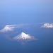 Three Friendly Volcanoes by meyerak