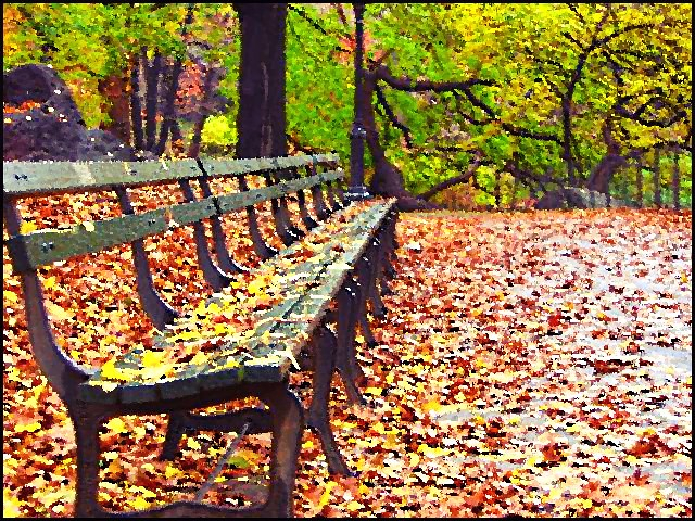 Central Park Bench Jonathan Higa Flickr