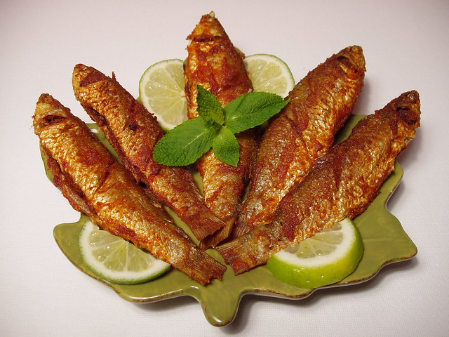 Deep Fried Parsha Bata - Bengali Fish