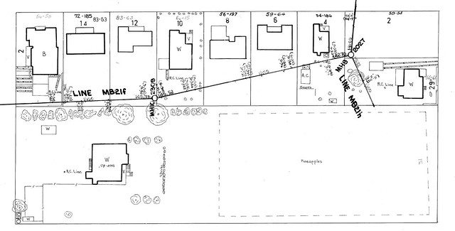 old school council sewer plan