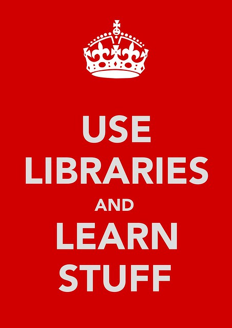 (Higher quality) Use Libraries and Learn Stuff image
