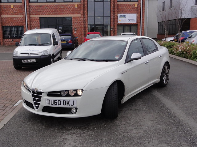alfa romeo 159 ti in white 001 flickr photo sharing. Black Bedroom Furniture Sets. Home Design Ideas