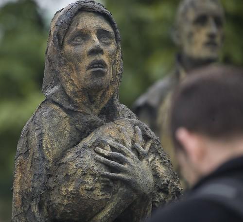 Custom House Famine Memorial