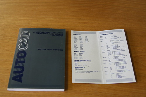 First AutoCAD Bound Manual & Command Reference
