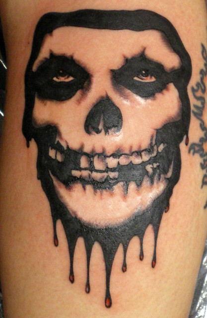 Misfits Skull Tattoo Pictures to Pin on Pinterest - TattoosKid Misfits Skull Tattoo