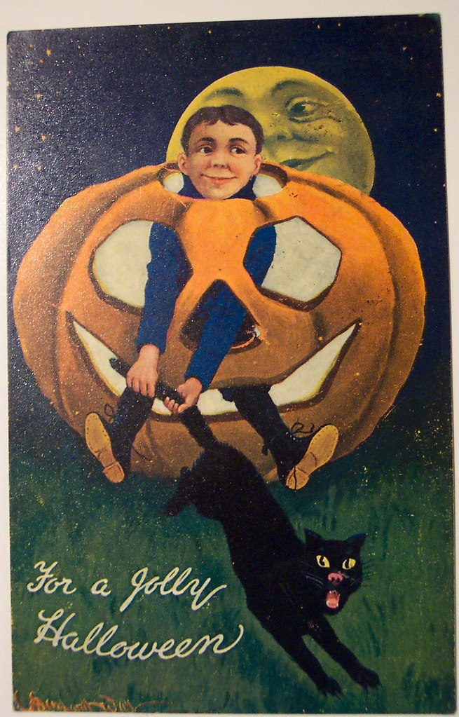 Vintage Halloween Postcard      Valentine and sons