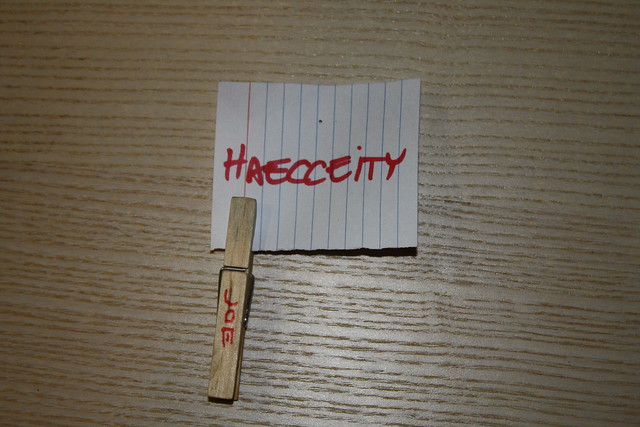 Header of haecceity
