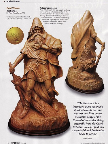 The 2010 Woodcarving mag's Competition winner