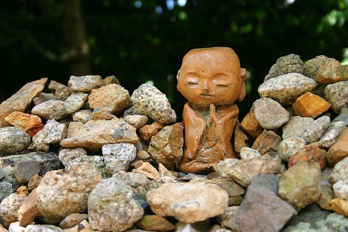Chion in - small stone buddha