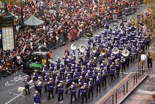 13646 Archbishop Riordan High School Crusaders marching band | by geekstinkbreath