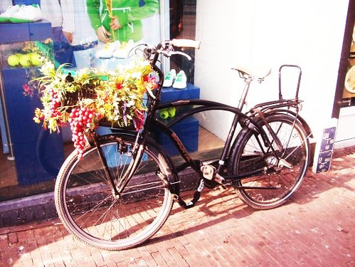 Fiets in bloei nice bike with flower decor in utrecht h by wietse flickr photo - Draadloze bloei lamp ...