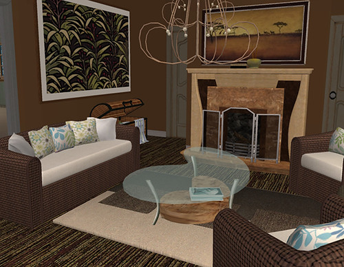 African inspired living room flickr photo sharing for African inspired living room ideas