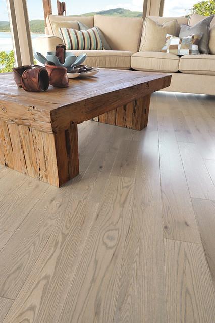 Golden Oak Floor Living Room