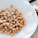 chickpea salad with parmesan