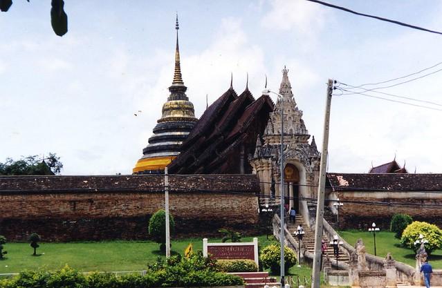 Entrance to Wat Pra That Lampang Luang