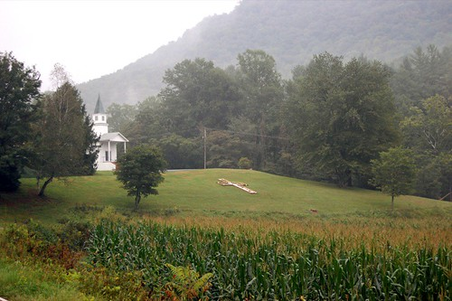 church corn northcarolina valley