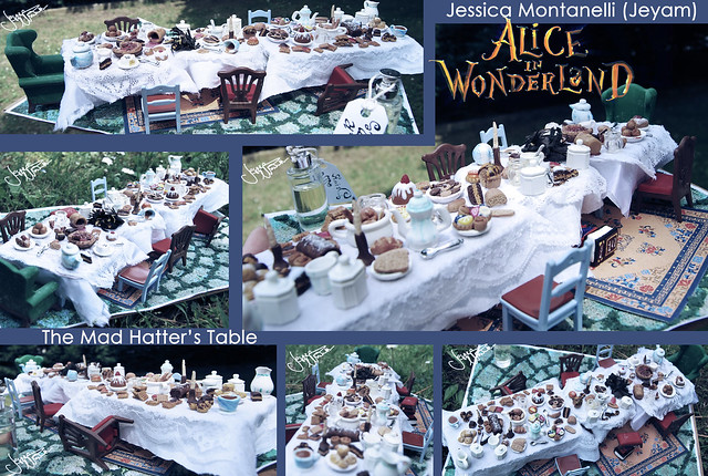 The Mad Hatter's Table - Different Views