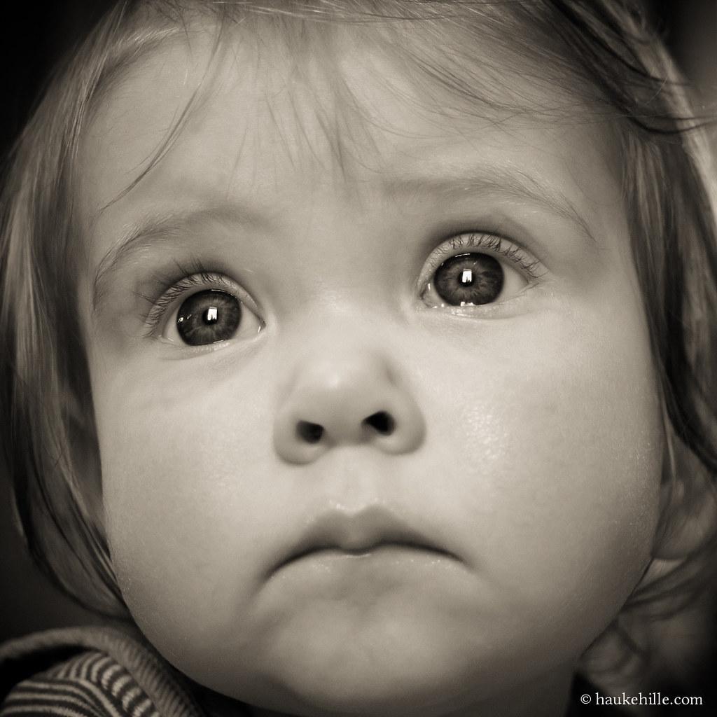 Baby Portrait: Sad Siri