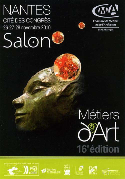 Molusk expose au salon des m tiers d 39 art de nantes for Le salon qui parle nantes