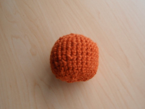 Mystery crocheted ball