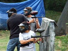 individual sports(0.0), contact sport(0.0), shooting sport(0.0), sports(0.0), combat sport(0.0), team sport(0.0), shooting(1.0), recreation(1.0), outdoor recreation(1.0), shooting range(1.0), games(1.0), paintball(1.0),