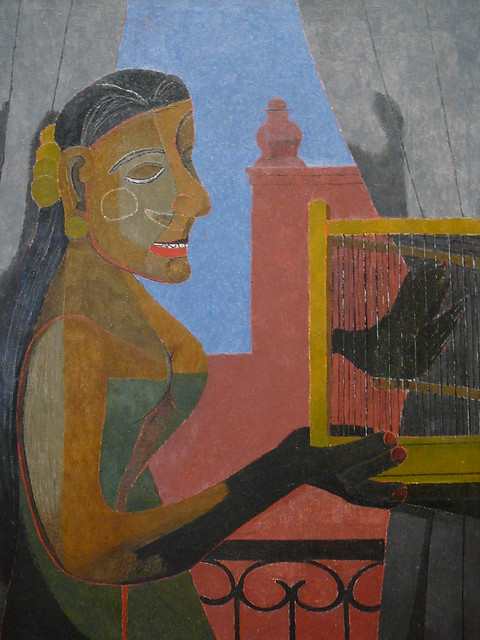 Woman With A Bird Cage Tamayo Flickr Photo Sharing