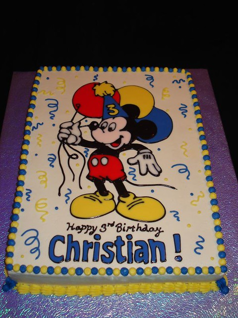 Mickey Mouse Birthday Cake Flickr Photo Sharing
