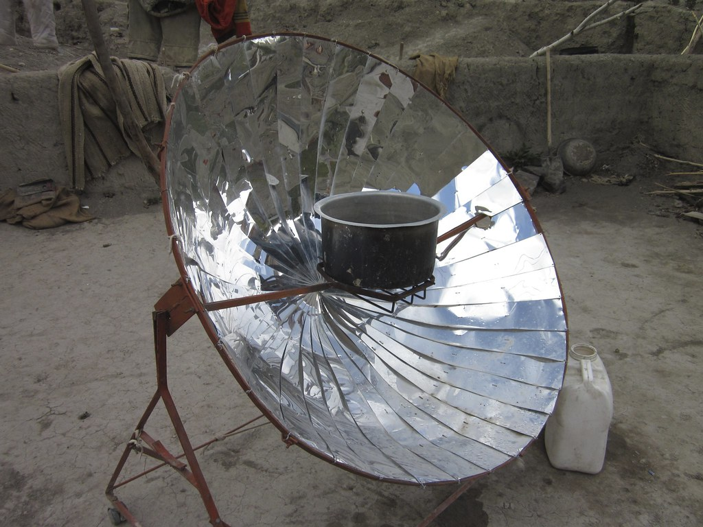 Parabolic heaters such as this are provided to local villages in India by conservation organizations to help villagers heat tea water and food without using up a lot of their local fuels.   Learn more about Panthera's 'Trekking with Tom' blog series to see videos, photos and stories from Tom's trip to Tajikistan and India at www.panthera.org/trekking-with-tom.  Learn about Panthera's Snow Leopard Program at www.panthera.org/programs/snow-leopard/snow-leopard-program  Learn about Panthera's Snow Leopard Program Executive Director, Dr. Tom McCarthy, at www.panthera.org/people/tom-mccarthy-phd  © Tom McCarthy/Panthera