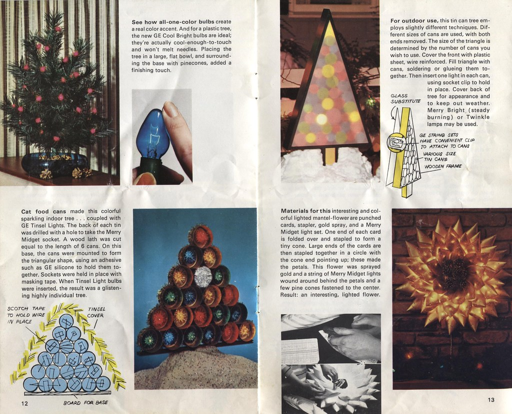 GE 1970 Christmas Idea booklet p12&13
