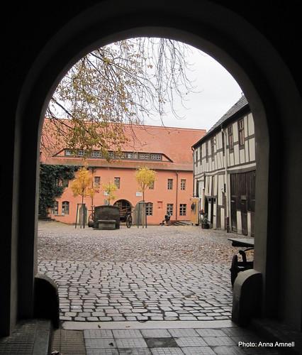 1500-luvun Wittenberg. Lucas Cranach's House