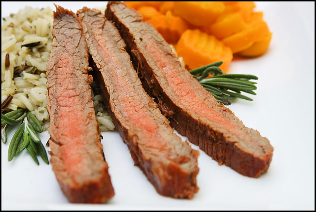 Bloody Mary Marinated Flank Steak | Flickr - Photo Sharing!