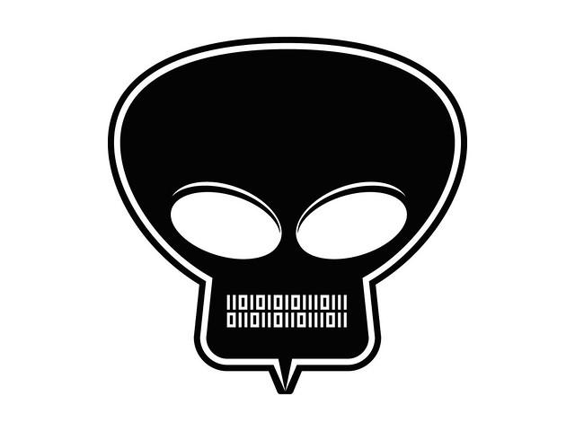 ugress skull logo black flickr photo sharing