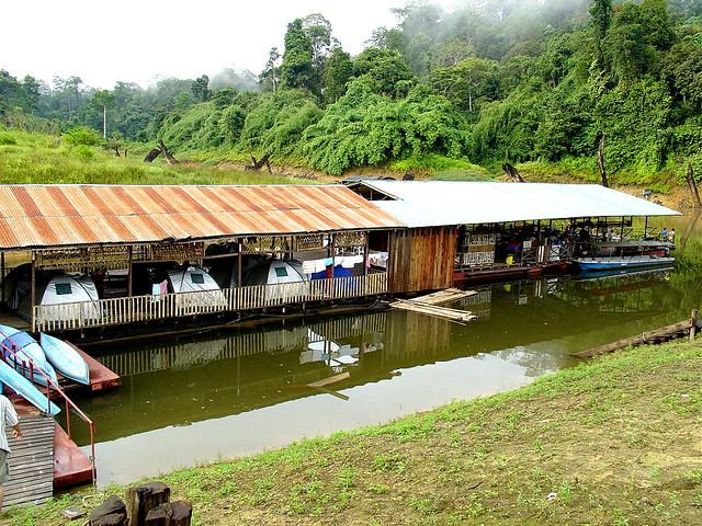 Download this Side View Rumah Rakit picture