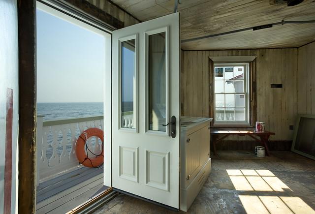 Beach house with jeld wen custom fiberglass exterior door for Jeld wen exterior fiberglass doors
