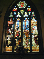 Henry III, Stained Glass Window, ,Maison Dieu (Old Town Hall) - Dover.
